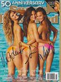 Nina Agdal Chrissy Teigen & Lily Aldridge Autographed Signed Sports Illustrated Swimsuit Model Coa