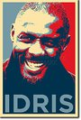 Idris Elba - Art Print (parodie Obama Hope) Poster Photo Glacé Cadeau 30x20 Cm Affiche
