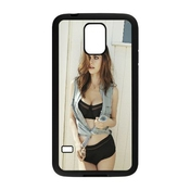 Alexandra Daddario Celebrity Samsung Galaxy S5 Cell Phone Case Black Persent Xxy002_6994255