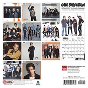 Calendrier One Direction 2017