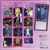 Calendrier Taylor Swift 2017