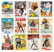 Calendrier Wall 2017 [12 Pages 20x30cm] Elvis Presley Vintage Movie Poster