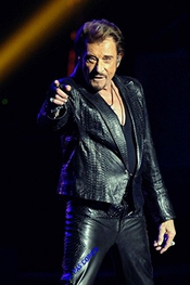 Photo Poster De Johnny Hallyday?30x45cm?12x18inch