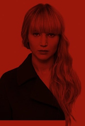 Red Sparrow ? Jennifer Lawrence ? U.s Textless Movie Wall Poster Print - 30cm X 43cm Brand New