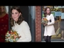 VIDEO : The Duchess of Cambridge Masters the Maternity Look