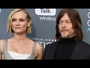 VIDEO : Diane Kruger and Norman Reedus Kiss on the Critics' Choice Red Carpet