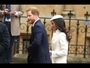 VIDEO : Meghan Markle attends first royal engagement with Queen Elizabeth