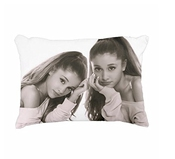 Custom Ariana Grande Standard Size Design Cotton Pillow Case 20x30 Twin Sides Print