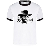 Clint Eastwood Man With No Name Western T Shirt
