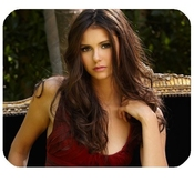 Actress Nina Dobrev Mousepad Personalized Custom Mouse Pad Oblong Shaped In 9.84x7.87 Gaming Mouse Pad/mat