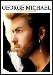 George Michael 2021 Grand Format (a3) Calendrier Mural Scellé